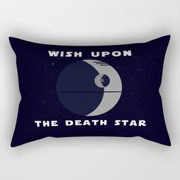 """""""Wish upon the death star"""" Rectangular Pillow"""