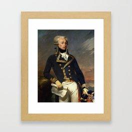 Marquis de Lafayette Painting - Joseph-Desire Court Framed Art Print