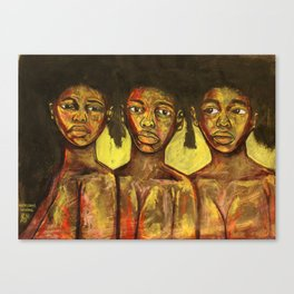 2020 Learning Seeing Knowing Being by Marcellous Lovelace Canvas Print