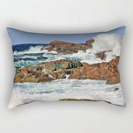 Tempestuous Cape Bonavista, Newfoundland Rectangular Pillow