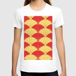 Fan texture T-shirt