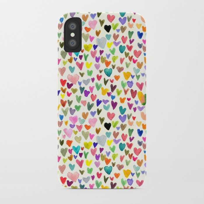 Love the world iPhone Case