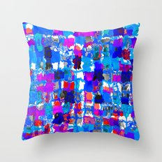 PunchCard 2 Throw Pillow