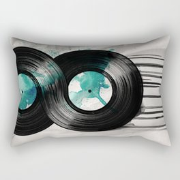 infinite vinyl Rectangular Pillow