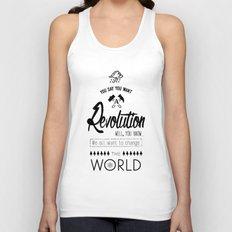Lennon's Revolution Unisex Tank Top