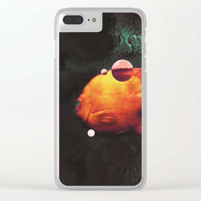 Blop Clear iPhone Case