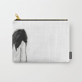 GIRL IN BATHROOM Carry-All Pouch