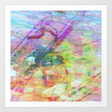 Stance Art Print