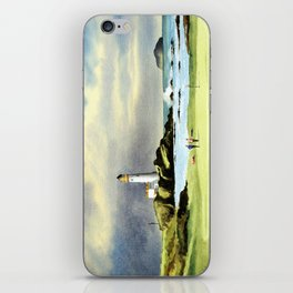 Turnberry Golf Course 10th Green iPhone Skin