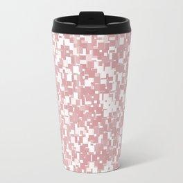 Bridal Rose Pixels Travel Mug