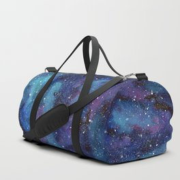 Galaxy Space Painting Stars Cosmic Universe Nebula Art Duffle Bag