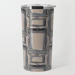 Antique Frame black and white #3 Travel Mug