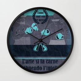 Dandy Vs Punk Wall Clock