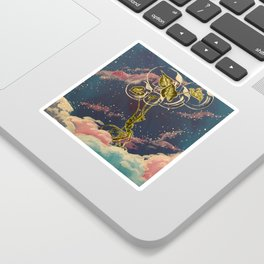 Homegirl Goes to Outer Space Sticker