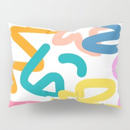 Colorful Modern Abstract Pillow Sham