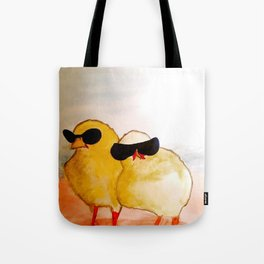 Jake and Elwood Tote Bag