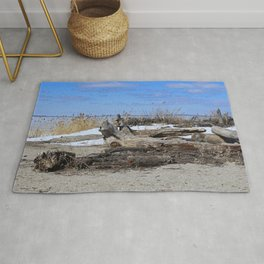 Winter in Maumee Bay Rug