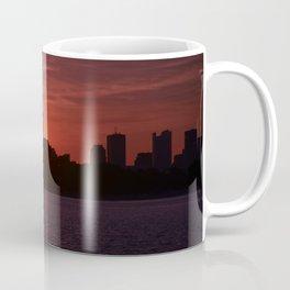 Boston Sunset landscape Coffee Mug