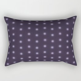 """Polka Dots Degraded & Purple shade of Grey"" Rectangular Pillow"