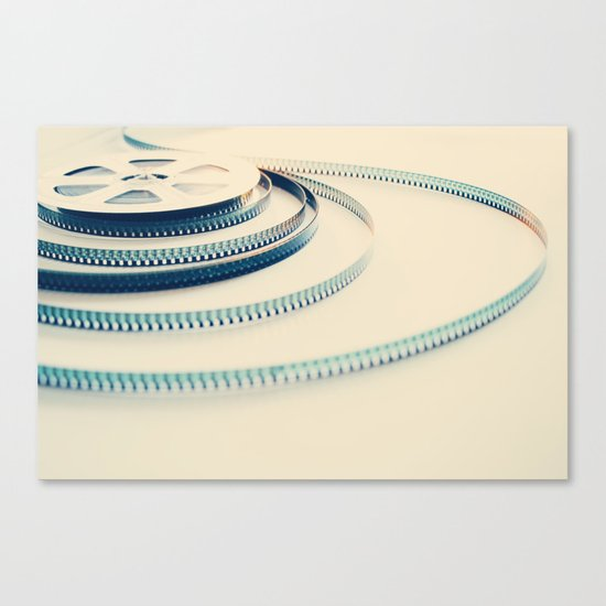 super 8 film III Canvas Print
