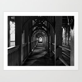 The High Level Bridge Art Print