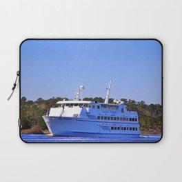 Front Of Gambling Ship Laptop Sleeve