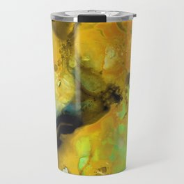Walking On Sunshine - Abstract Painting By Sharon Cummings Travel Mug