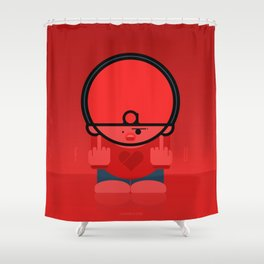Jilted Lover Shower Curtain
