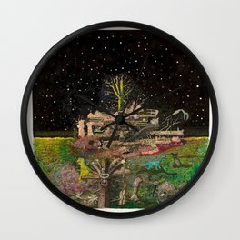 A Place In Space Wall Clock