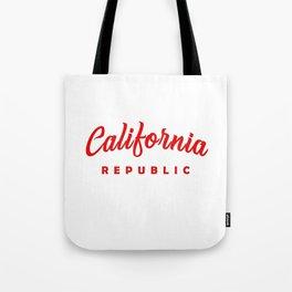 Golden State California Republic Tote Bag