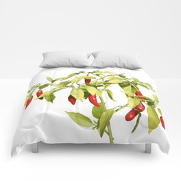 Thai Peppers Comforters