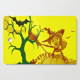Sassy Little Witch Cutting Board