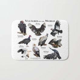 Vultures of the World Bath Mat