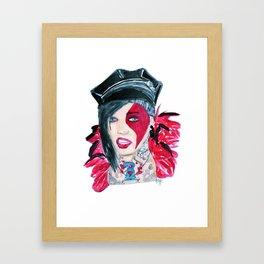 Jayy Von Framed Art Print