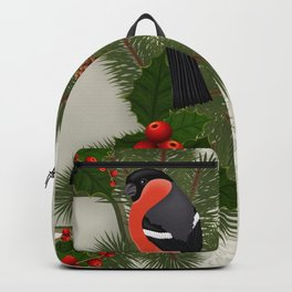 Christmas or New Year decoration Backpack