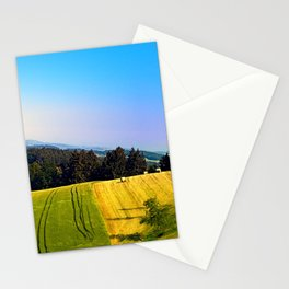 Tipping the scenery Stationery Cards