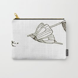 Butterfly Metamorphosis Carry-All Pouch