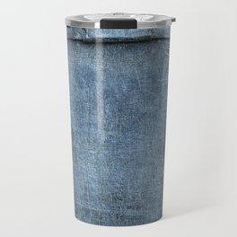 Blue Metal Plate Travel Mug