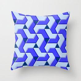 Geometrix XX Throw Pillow