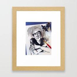 So Long Leonard Framed Art Print
