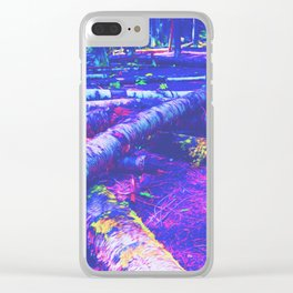 Logs of Colour Clear iPhone Case