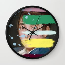 Goya with an Interference 1 Wall Clock