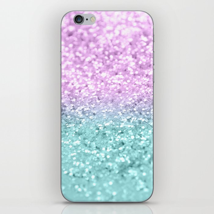 Mermaid Girls Glitter #2 #shiny #decor #art #society6 iPhone Skin