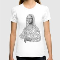 mona lisa T-shirts featuring Mona Lisa by nice to meet you