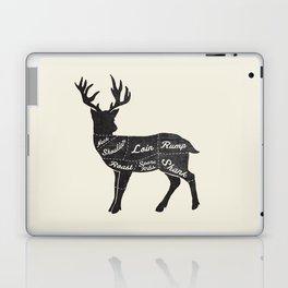 Venison Butcher Diagram-Deer Laptop & iPad Skin