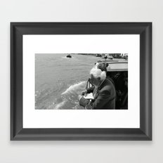 Street Photography a la Venice  Framed Art Print