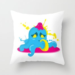 Poulpi Throw Pillow