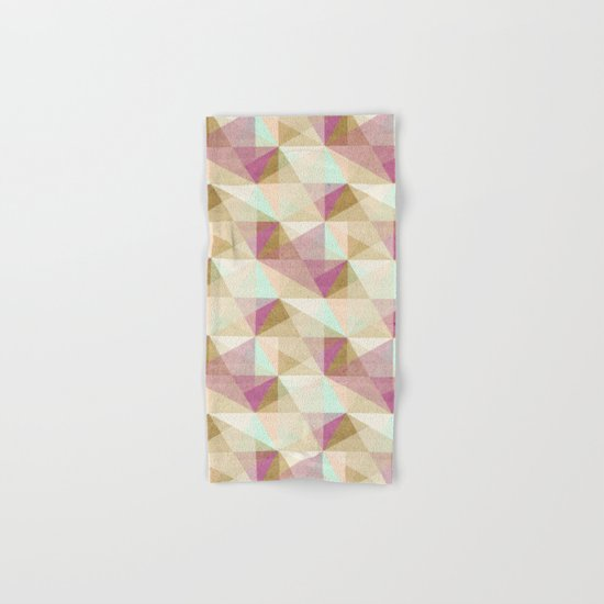 Geometric#24 Hand & Bath Towel