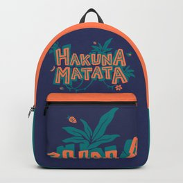 Problem Free Philosophy // 90s Cartoon, Millenial, Classic Song Backpack