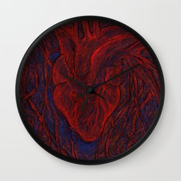 Heart's Habitat Wall Clock